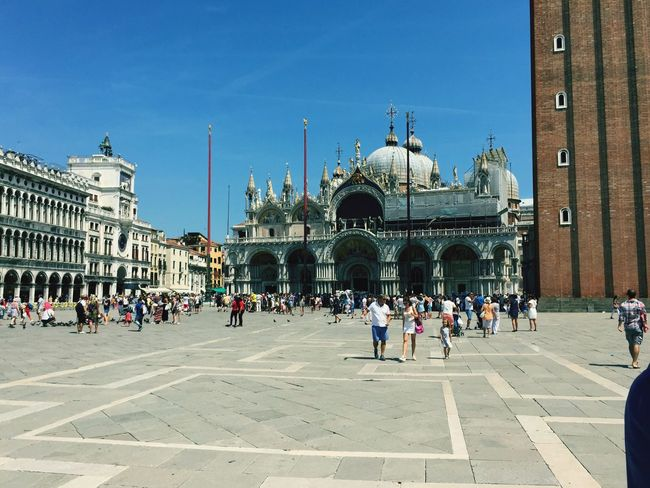 Architecture Venezia San Marco Tourism Travel City History Vacations Cultures Cathedral Square