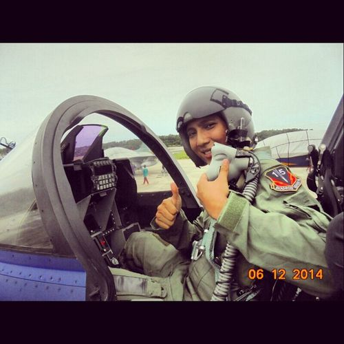 Everyday Lives fly everyday. Airforce Plane
