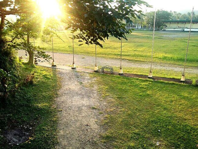 Sunset ESSU Campus Borongan Baseball Field Green