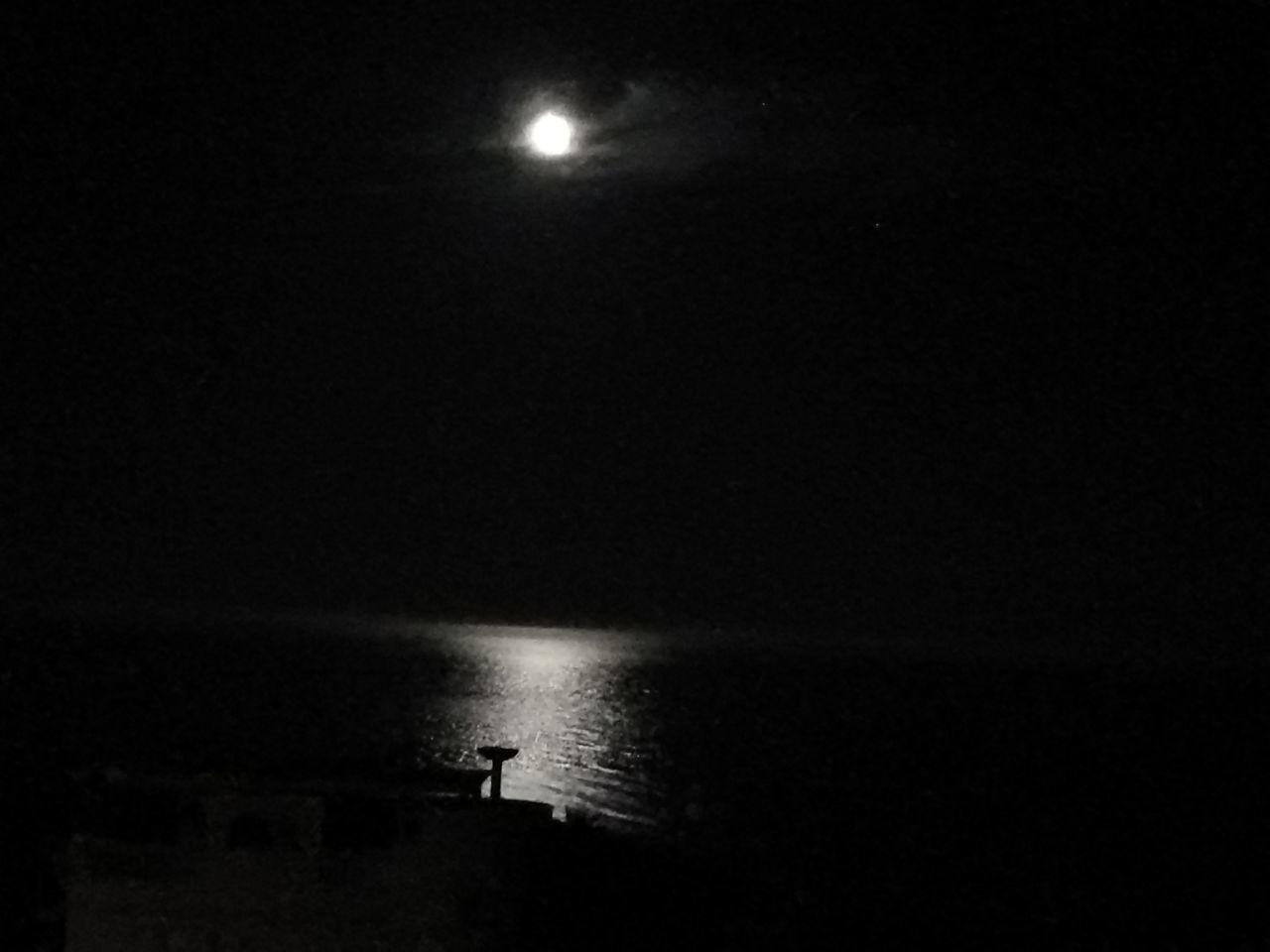 The Week On EyeEm Night Moon Water Nature Horizon Over Water Recuerdos♥