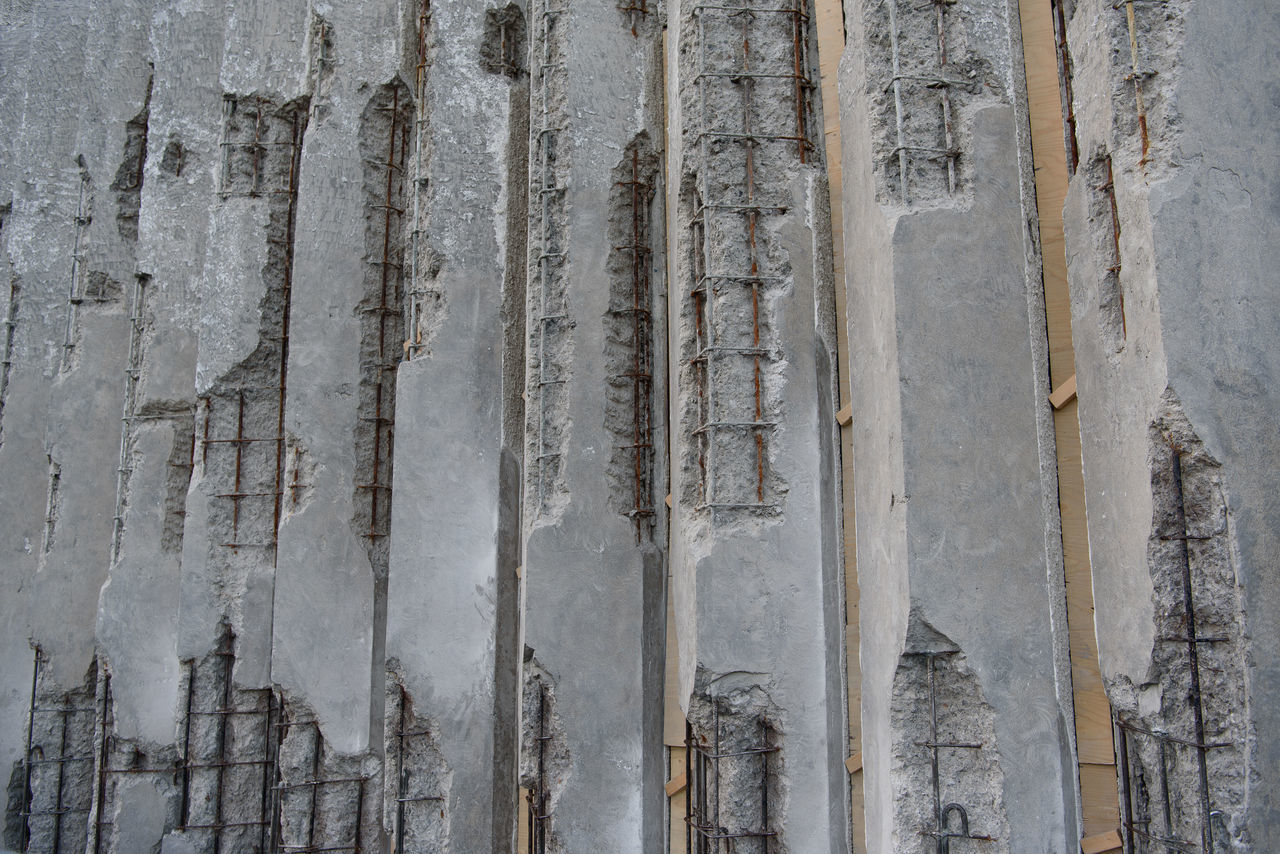 damaged concrete wall Abandoned Buildings Architecture Broken Building Built Structure Close-up Concrete Wall Dam Dance Dangerous Dark Day Earthquake Enjoying Life Expose Failure  Outdoors Reinforced Concrete Reinforcements Relaxing Steel Textured  Walll Weather Photography