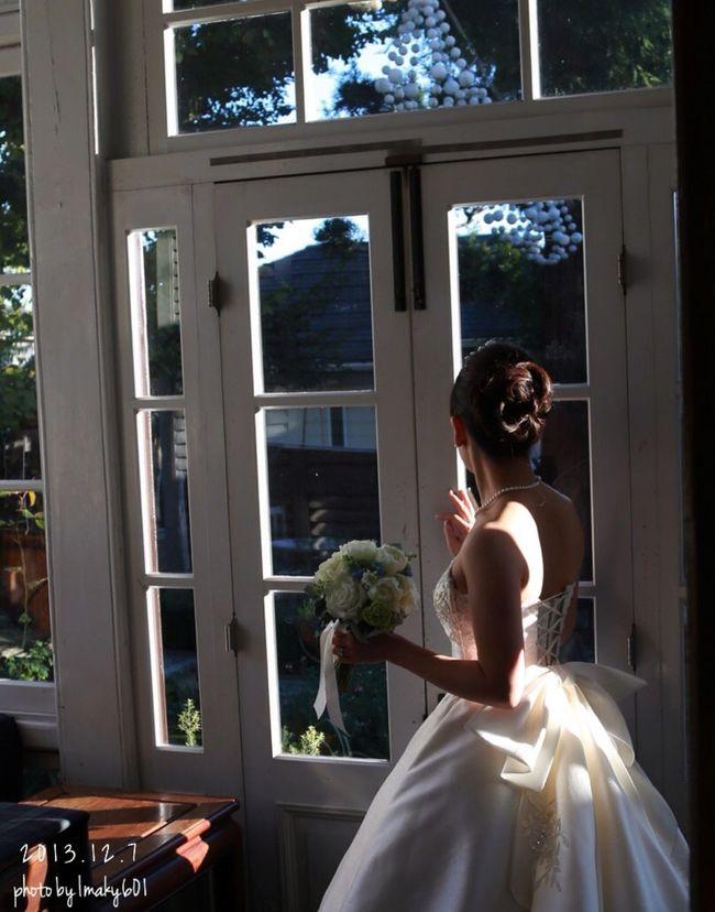 2013.12.7 2年経ちました。 結婚記念日 Wedding Photography 英国館 神戸 異人館 北野 妻を撮る ポートレート