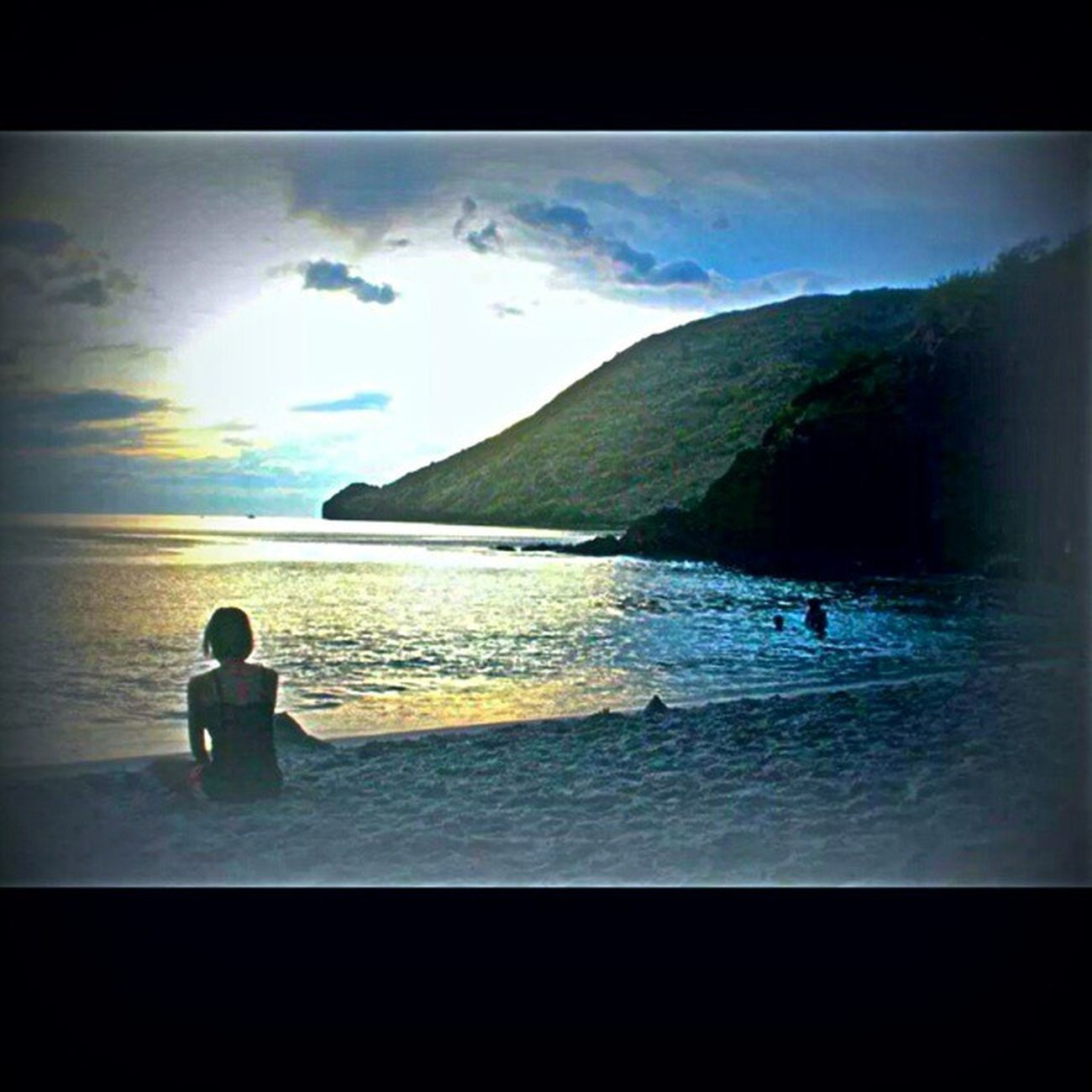 ? Sunset Beach Philippines Anawangin memories travel happiness