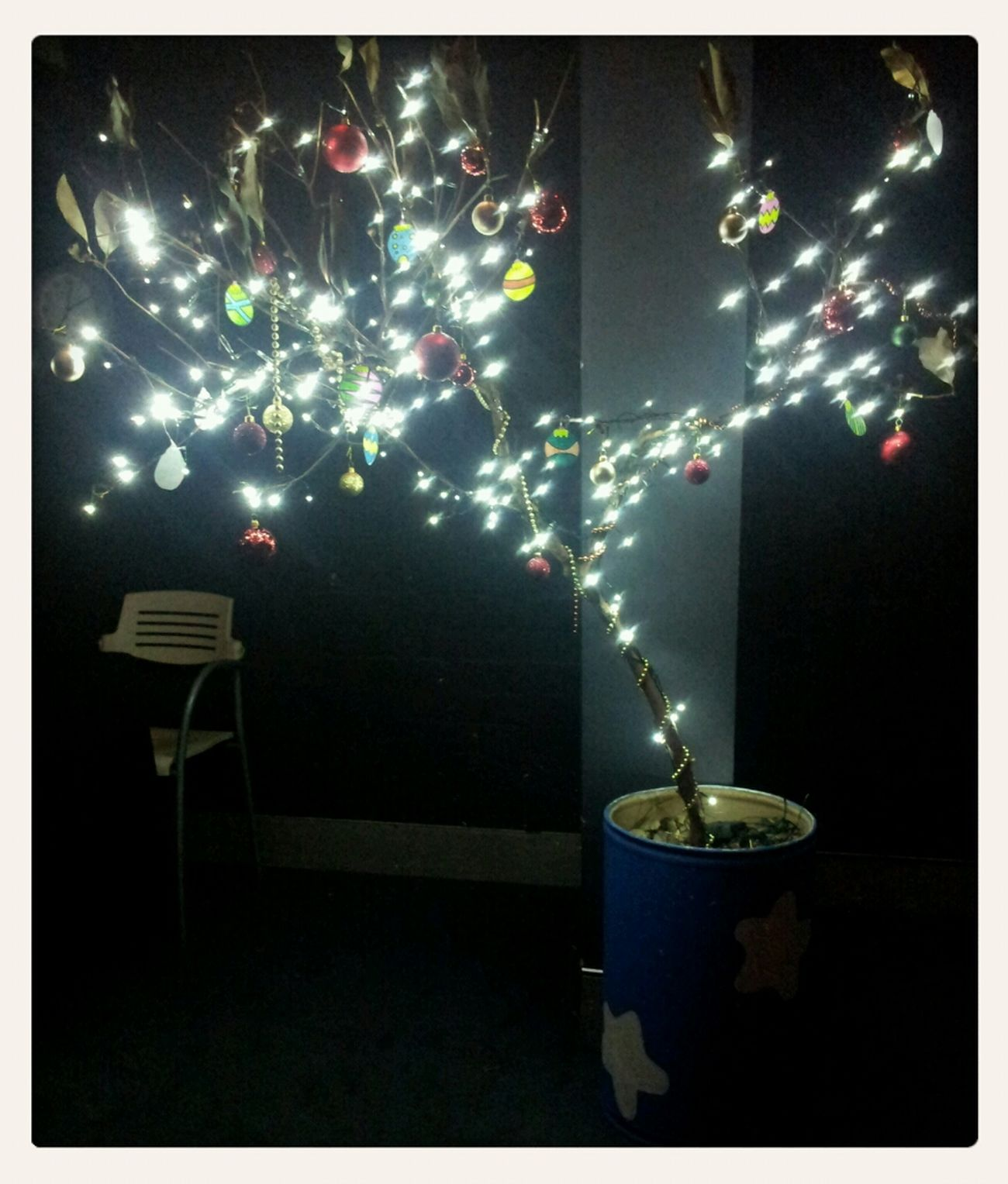 Voltage has a Christmas tree! :p