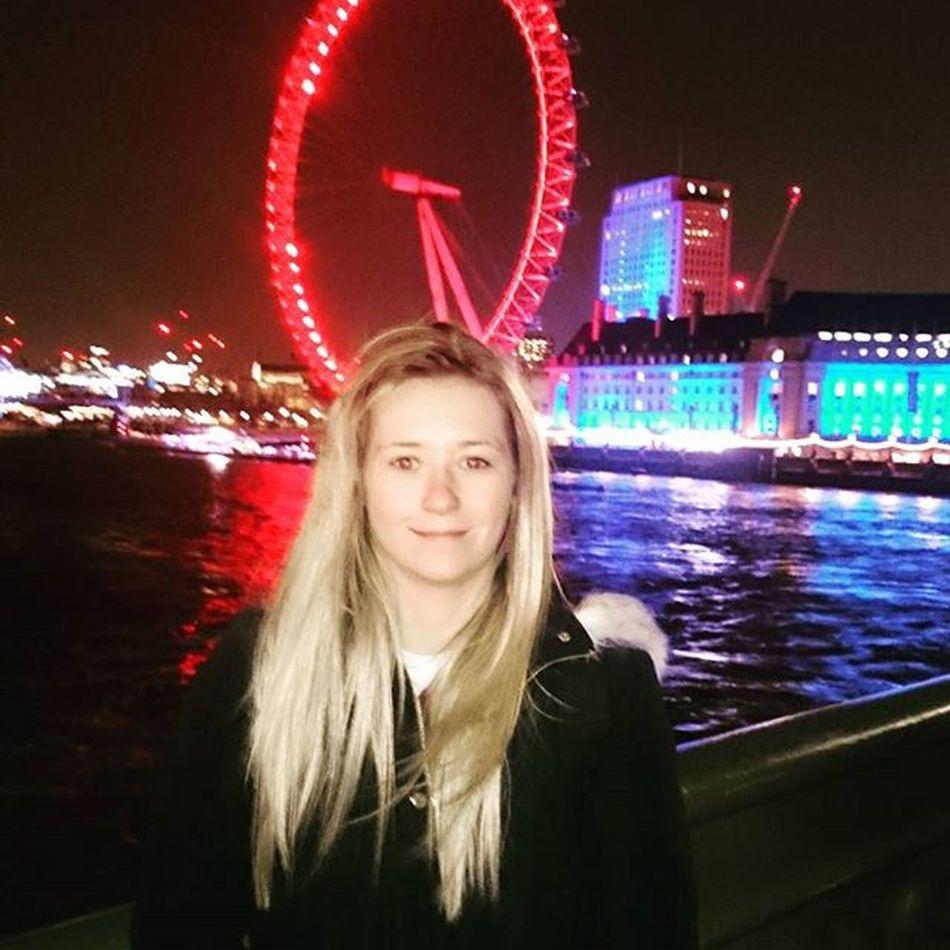 Westminster bridge at night Daughter Westmimster LondonEye London @jade.didcott