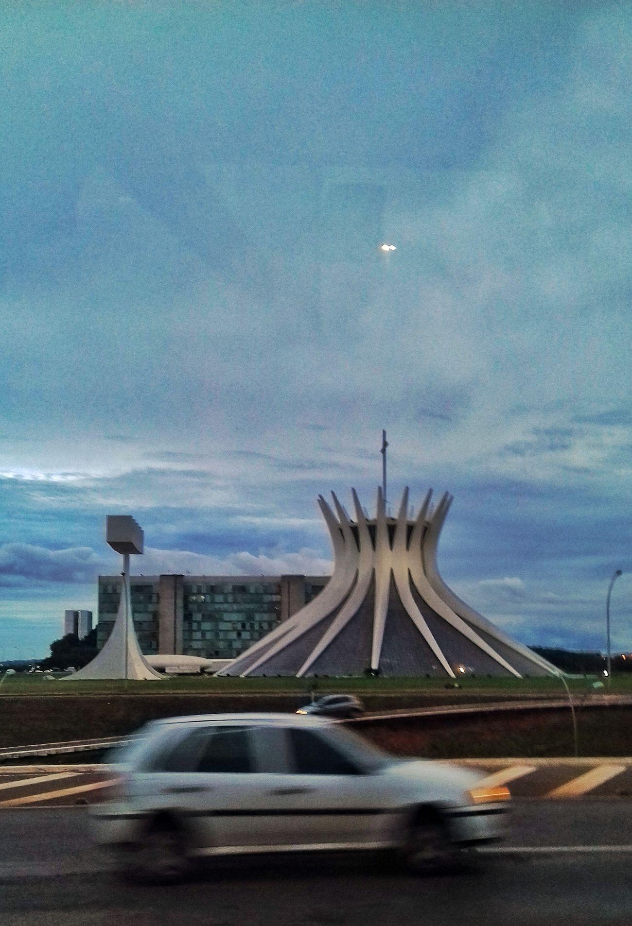 The City Light Modern Streetphotography Brasília - Brazil No People Street City Architecture
