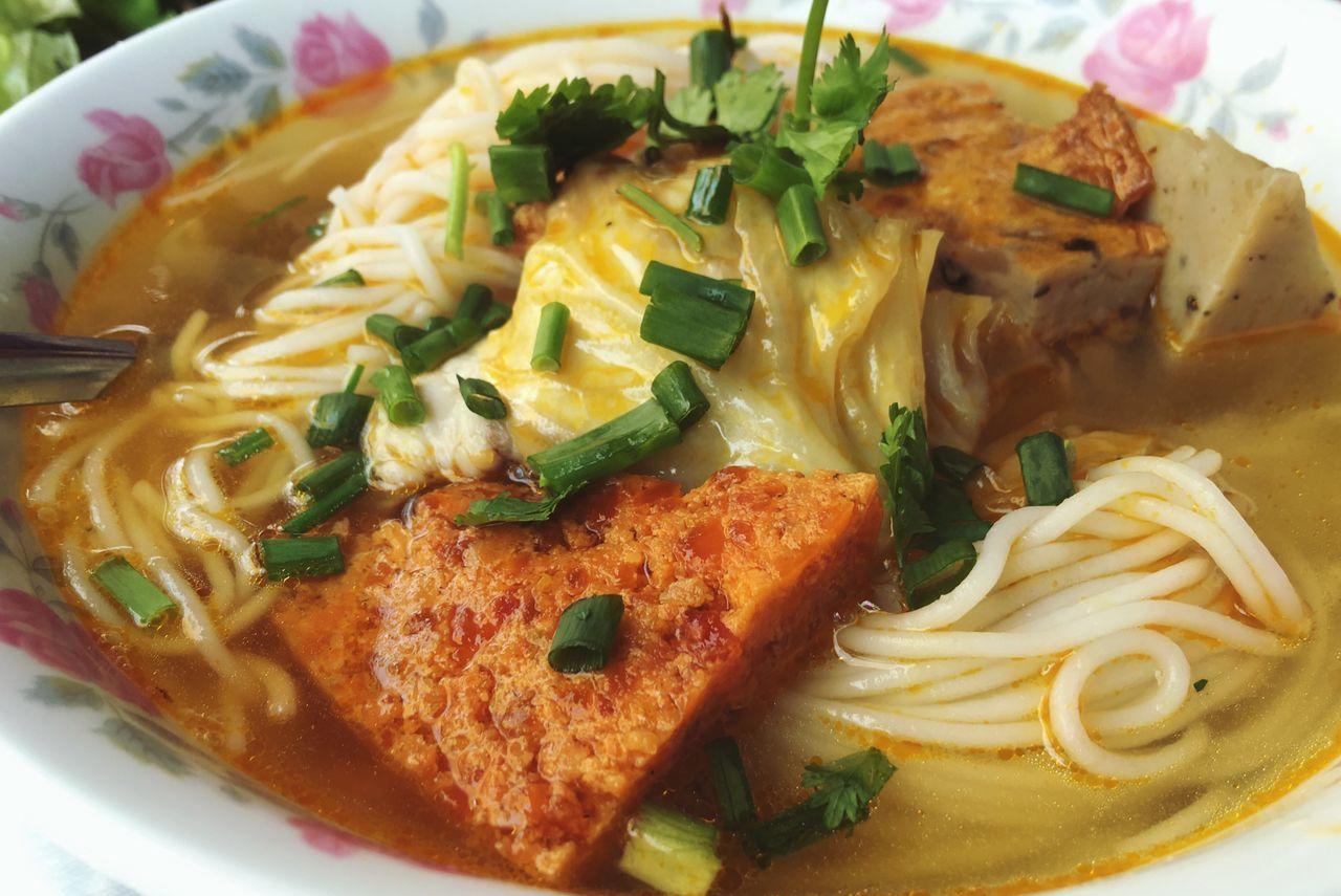 Bún Cá Ngừ - Fish Vermicelli Noodle Soup Food Foodporn Vietnamese Streetfood Noodles Asiancuisine Soup Fishcake Fish Cuisine