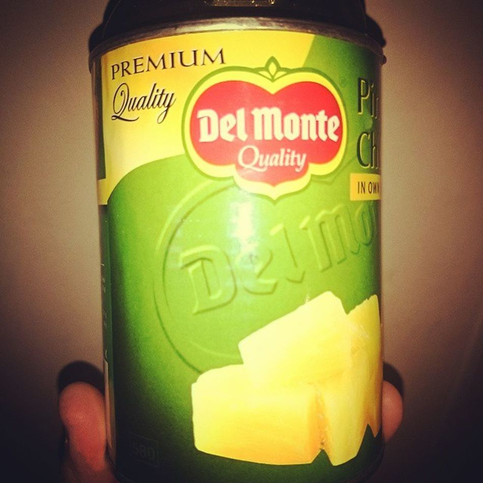 Delmonte Pineapple Pineapplechunks Ananas delicious herkullista sonyxperiaz2