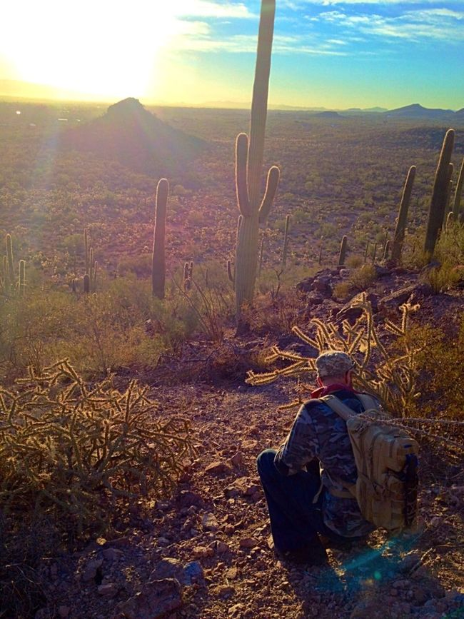 A hike with the love Nature Hike Desert Sunrise Desertlife 43 Golden Moments