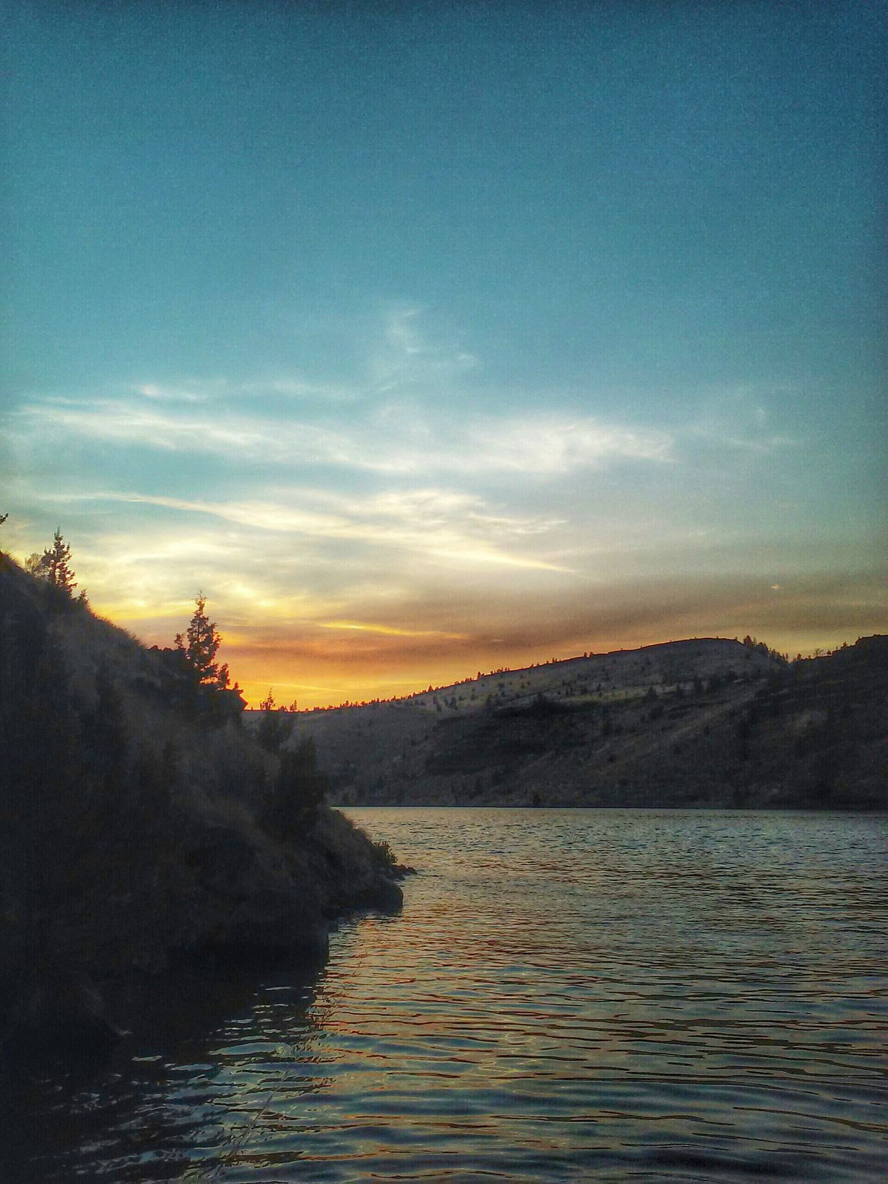 Central Oregon Water Nature Lake Peaceful Sky Sunset Outdoors