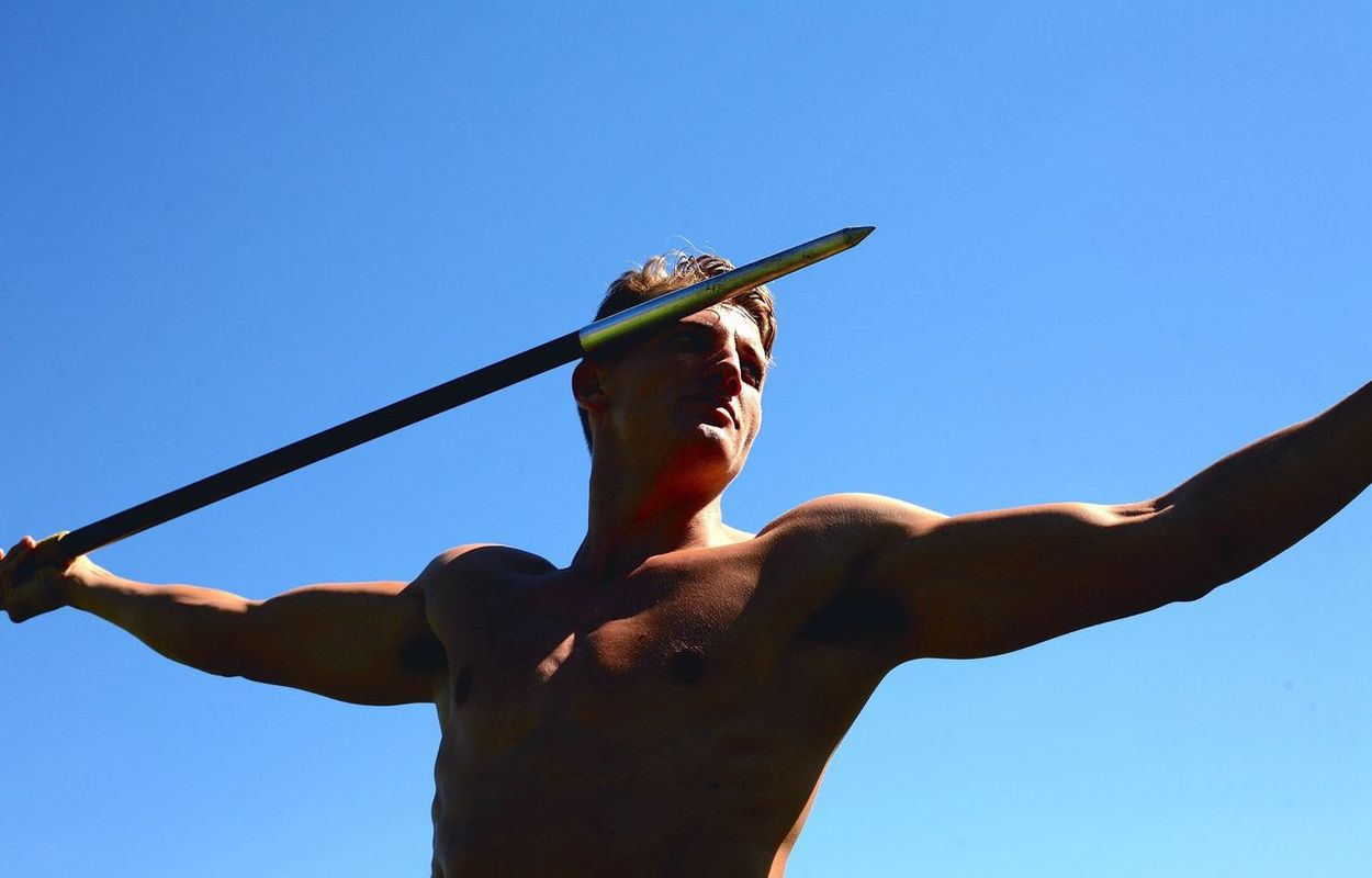 The Javelin Thrower Heroic Athlete Statuesque Body & Fitness Super Heroic Inspirational Track And Field Focus The Portraitist - 2016 EyeEm Awards Genuine Brazil Images