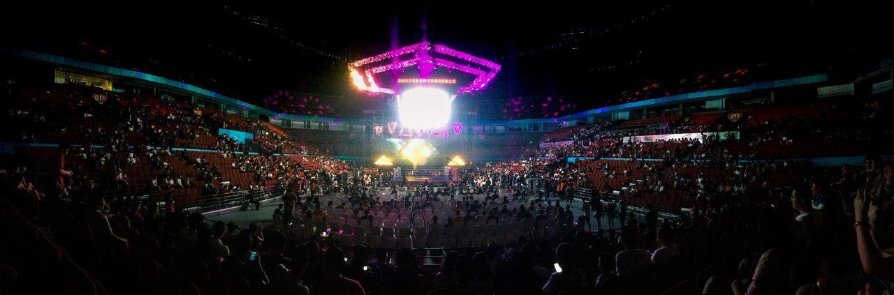 Boxing Game Fight Sport Center Stadium
