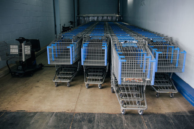 Road Trip thru New Mexico, Arizona, Utah Absence American Americana Baggage Blue Buy Carts Cowboy Day Empty Journey Modern No People On The Road Road Trip Roadtrip Seat Shopping Shopping Cart Stationary Travel Traveling United States Walmart West