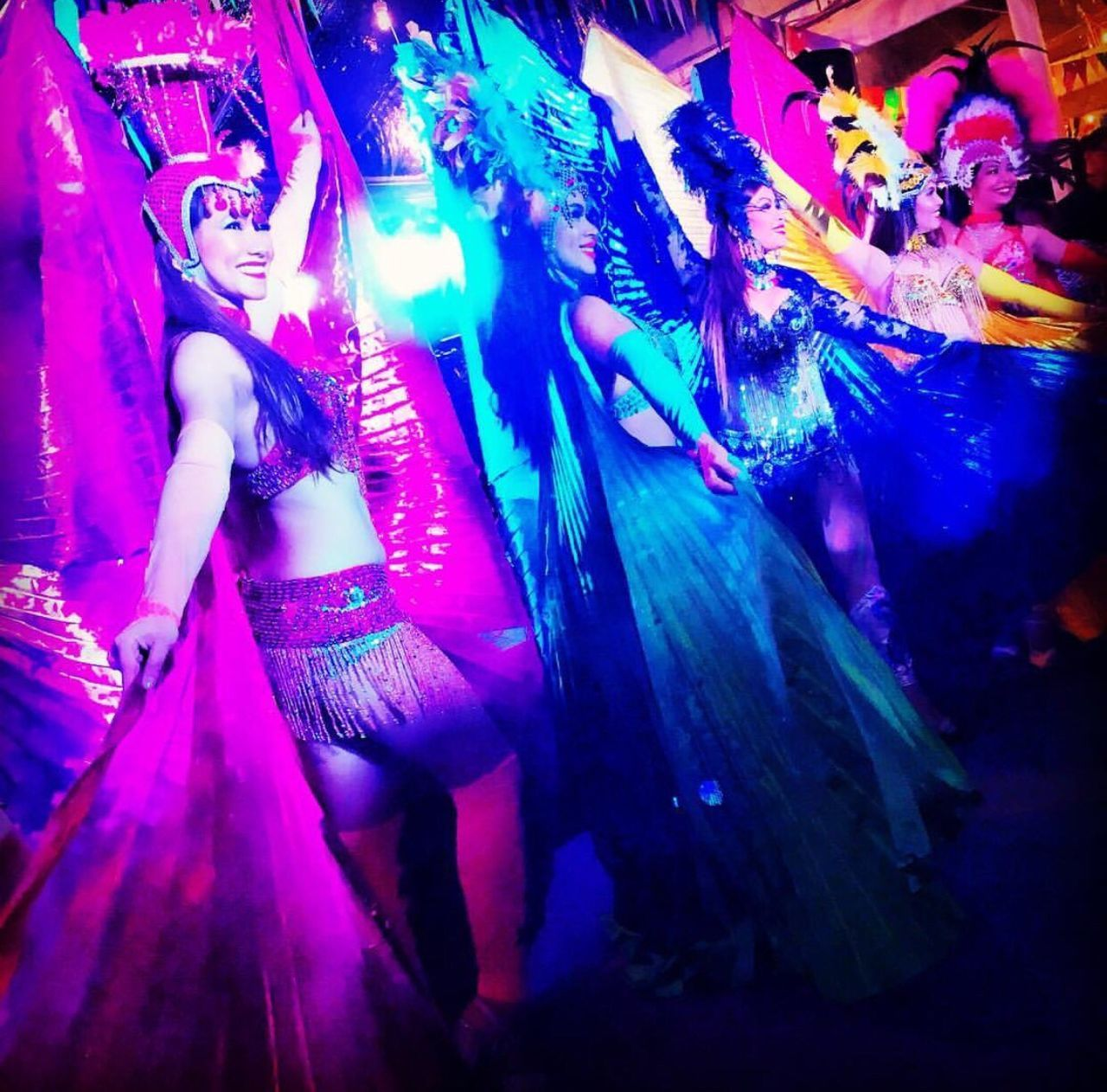Vibrant colors of Samba...