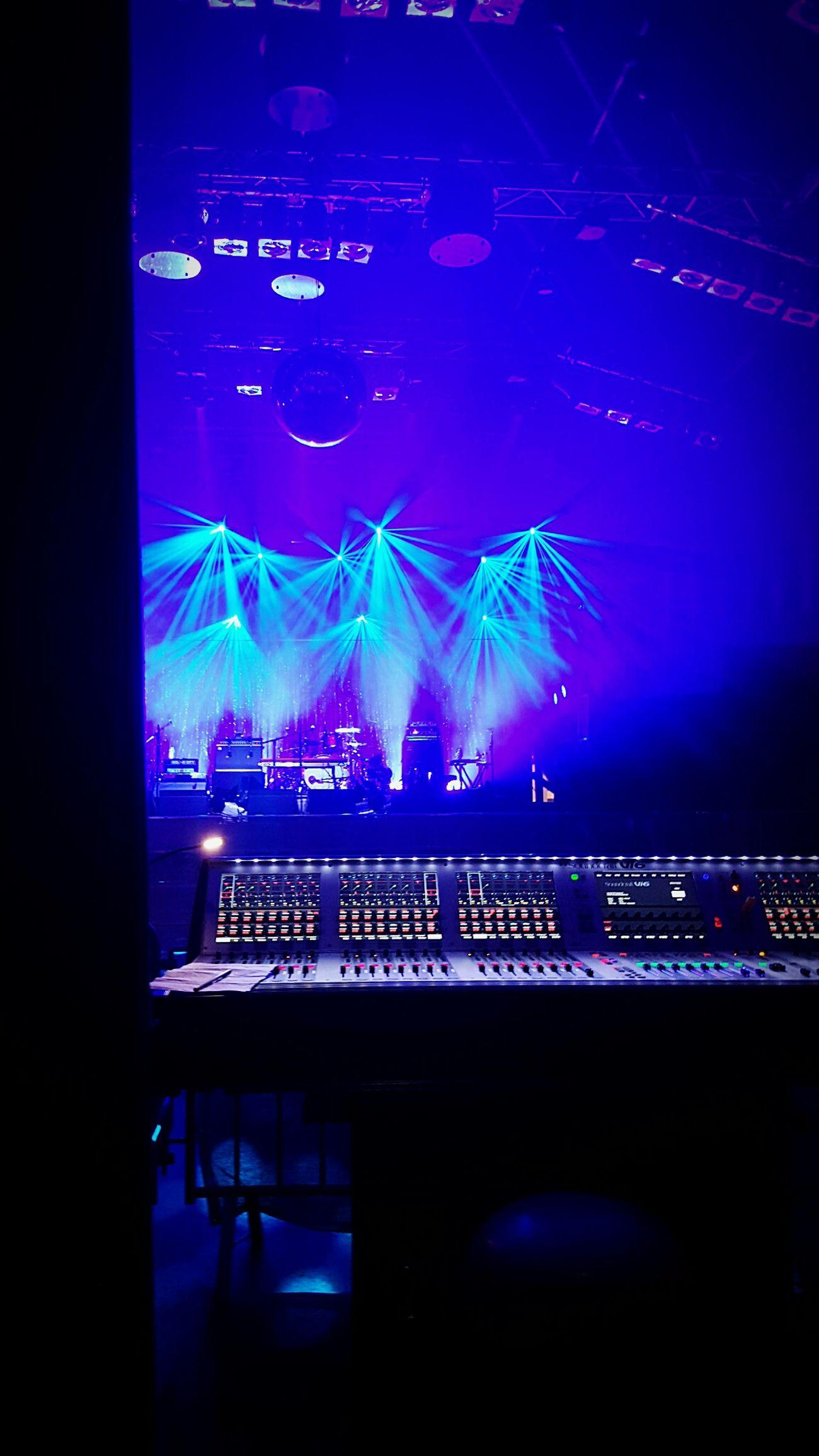 Backstage Concert Konzert Music Vivaconagua Tocotronic Indie Tontechnik