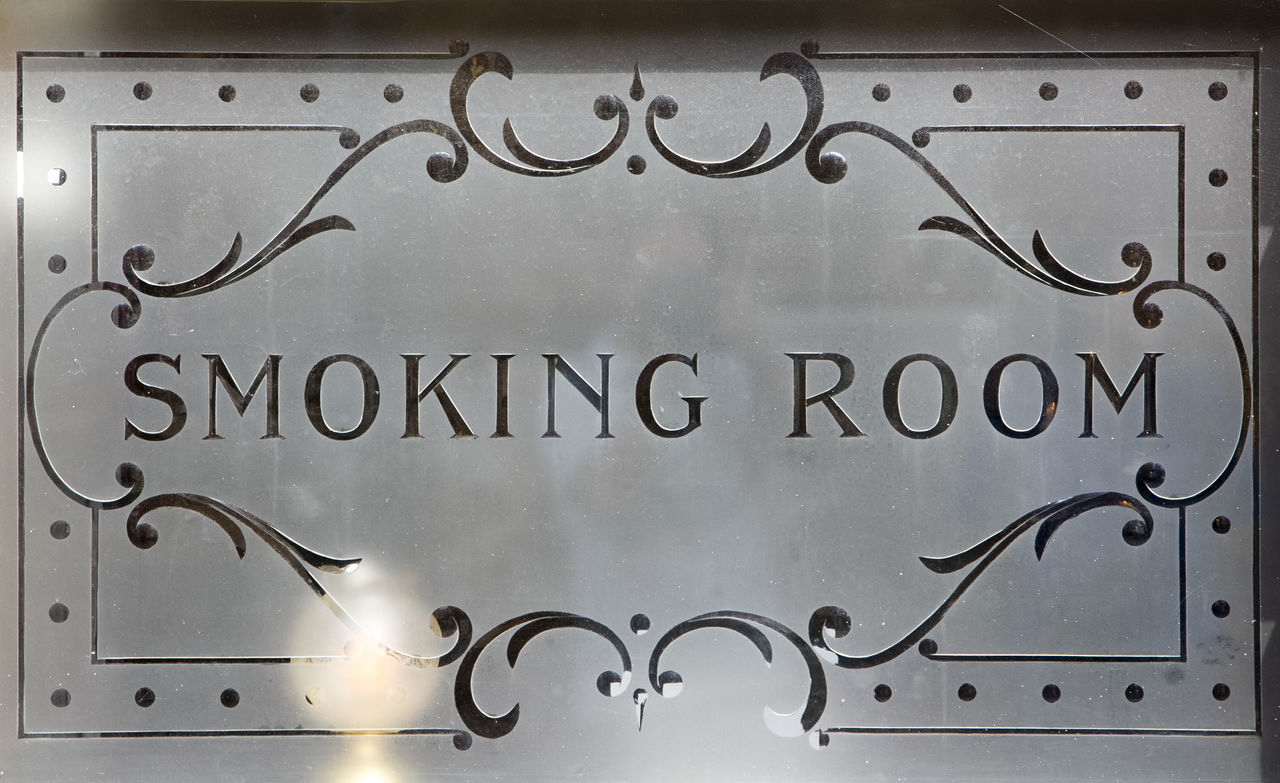 Etched glass obscure glazed window advertising smoking room Close-up Communication Etched Etched Glass Glass Glazed Information No People Obscure Glazed Obscured Obscured View Opaque Ornate Pattern Patterns Pub Window Room Sign Smoking Smoking Room Text Window Words