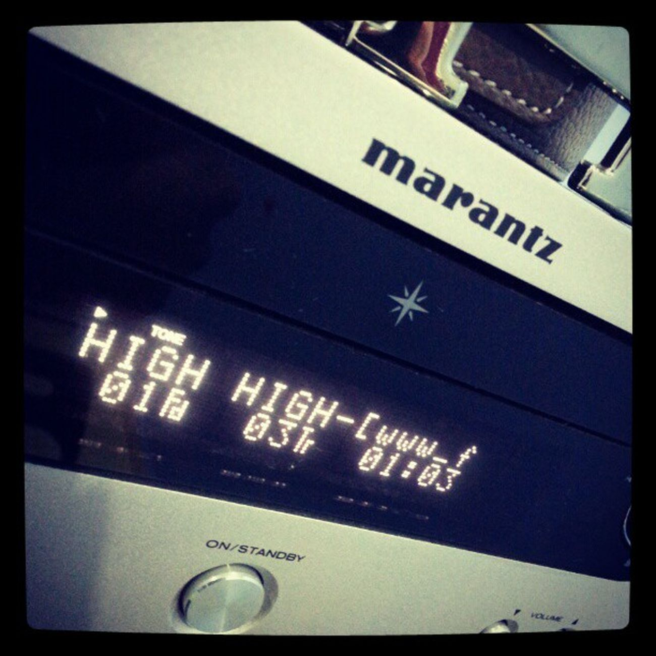 Listening while doing assingment ... Marantz Qacoustics