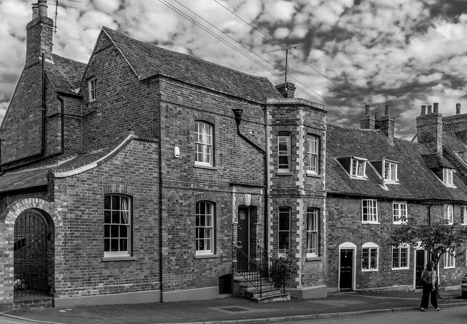 11 Silver Street, Newport Pagnell, Buckinghamshire Black And White Monochrome Buckinghamshire Newport Pagnell Architecture