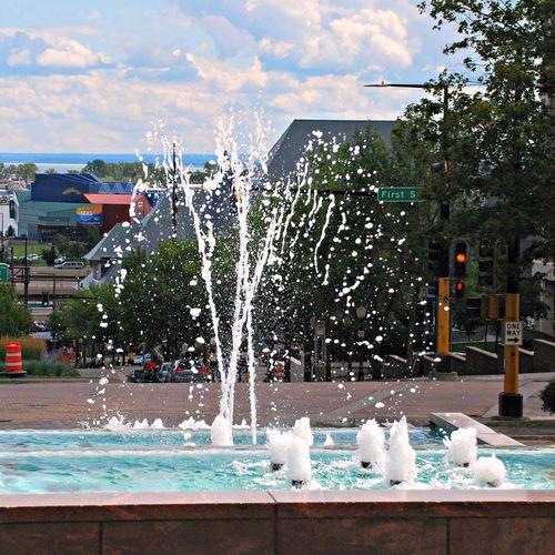Priley Fountain Landscape Water Fountain Decor Architecture