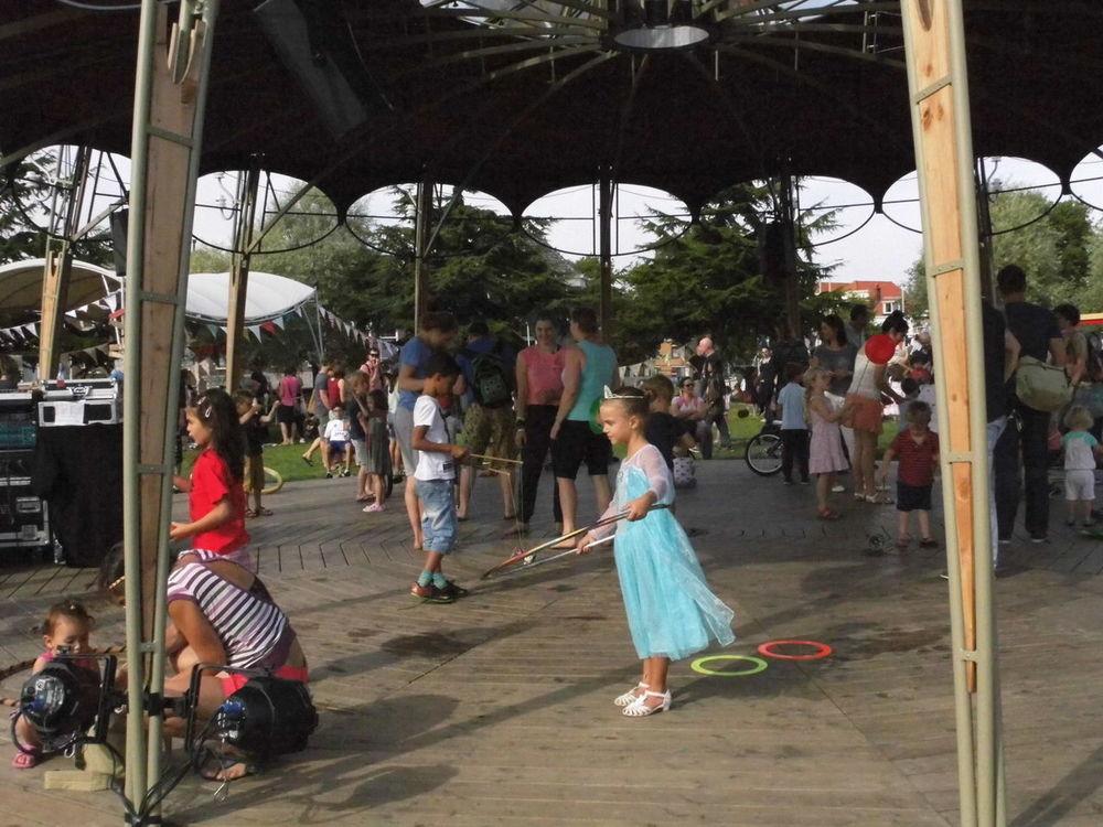 Childhood Children Day Festival Girl Hoola Hoop Large Group Of People Weekend Activities