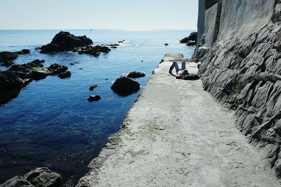 Beautiful stock photos of relax, Beauty In Nature, Day, Footpath, Genova