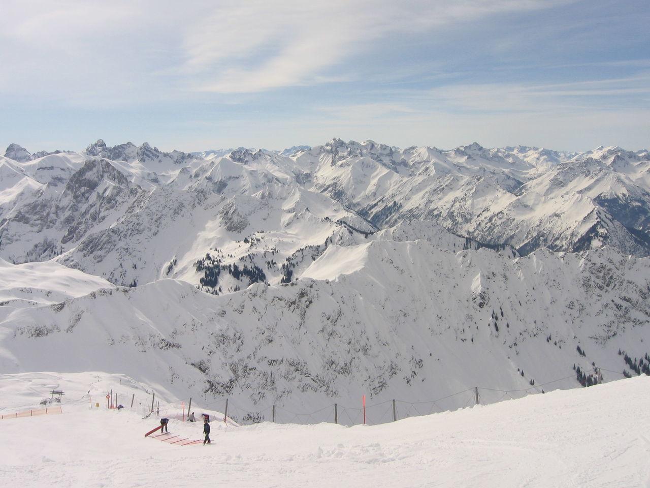 Blue Day Mountain Nature Oberstdorf & Umgebung Outdoors Ski Snow Snowboard White Winter