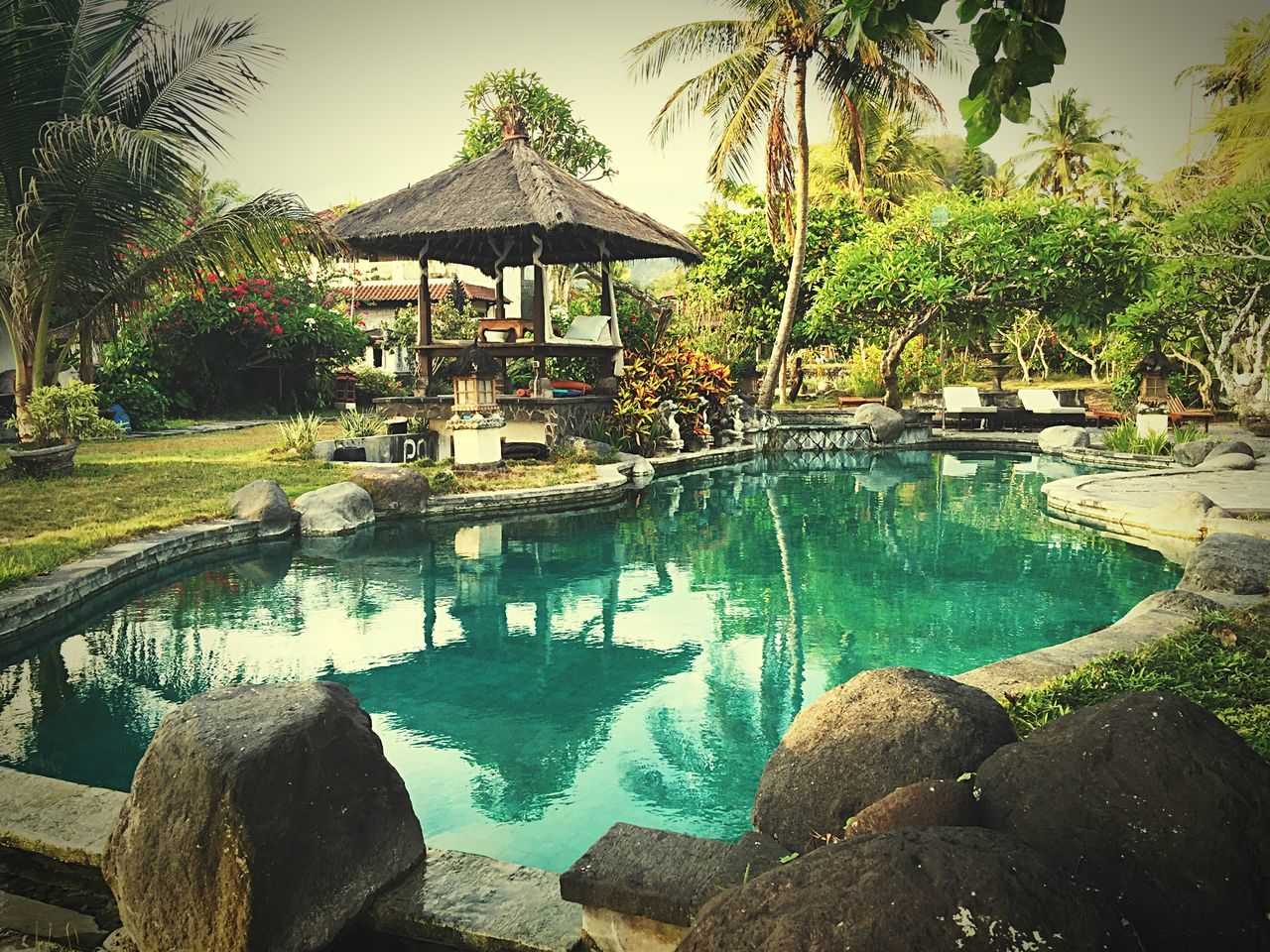 Falling in love with Bali... Bali Eat, Pray,Love INDONESIA IPhoneography Iphone6plus Snapshot Travel Exotic Bali, Indonesia Candidasa Bali Outdoors Iphone6 Relaxing Enjoying Life Resort Pool Poolside Holiday Landscapes With WhiteWall