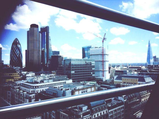 View from my workplace Londonwall cityoflondon London