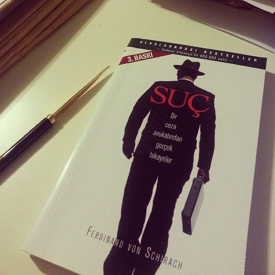 Nowreading Ferdinandvonschirach Verbrechen Book read lawyer memoriesofmartiallaw mesaideyiz :( suc aletimi de buldum!