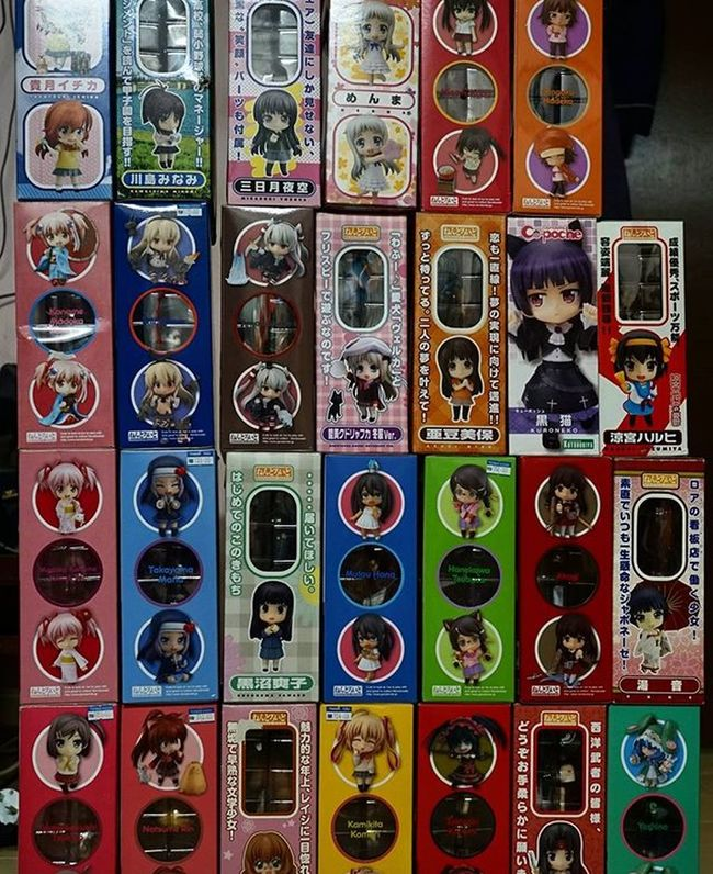 Time to say farewell 😔 😔 😔 as you all will be joining your new owners soon..hope they will treat you all better than me. I have been a bad owner keeping you all locked and key in the closet for all these time until today as I pack you all for the new owners. FAREWELL 😭😭😭😭😭 Nendoplanet Nendoroids Nendoroid Nendoworld Nendoworks Figma Xperia_knight Nendophotographer Nendogram Nendophotography Nendography Toyphotography Sony A7ii