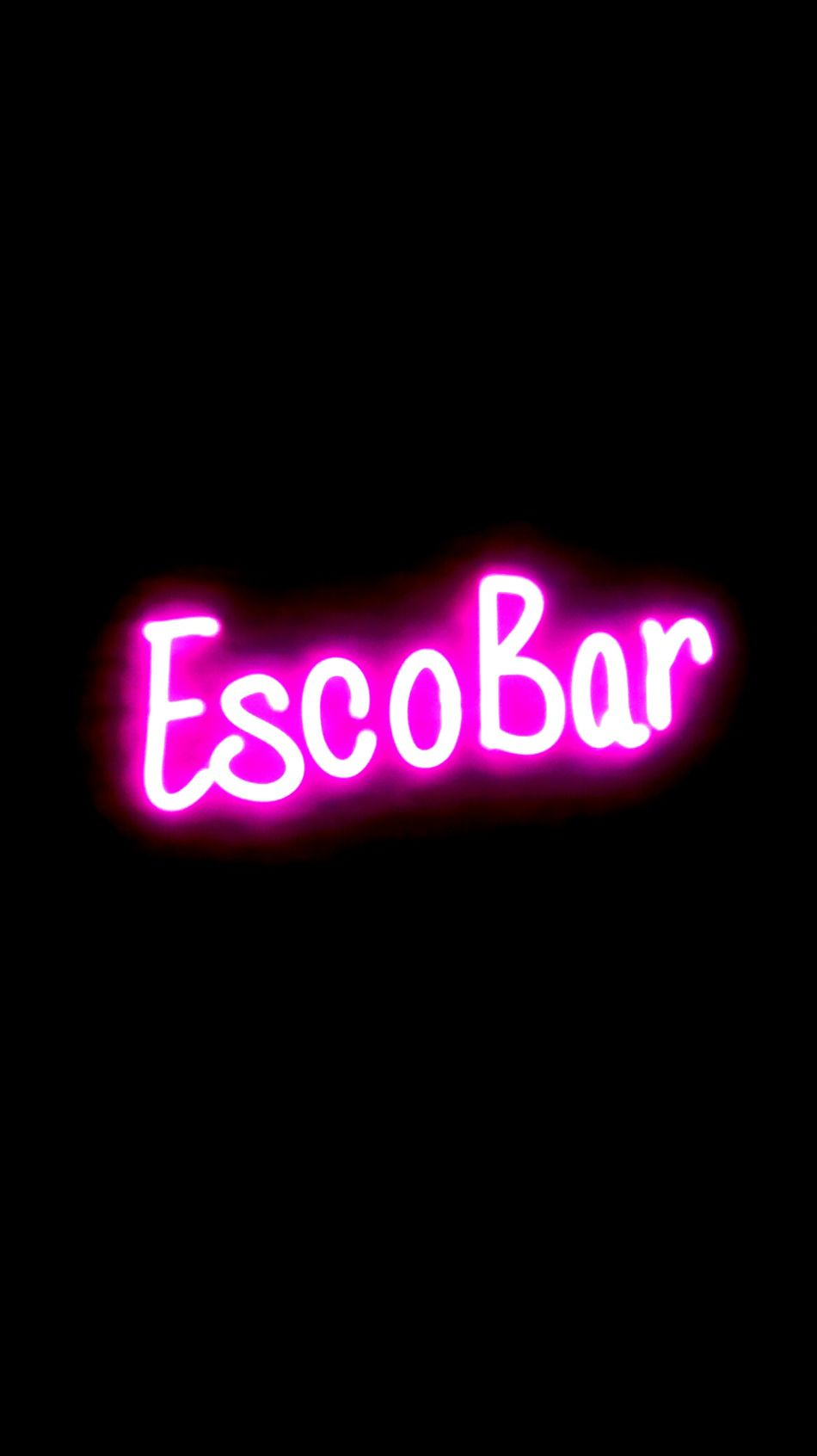 Illuminated Neon Close-up Nightlife Escobar Elpatron