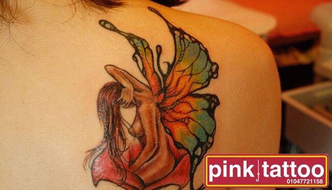 Tattoo Indoors  Text Communication Close-up Orange Color Creativity ArtWork Beauty Tattoos Tattooedgirls Tattooartist  Tattoo Design Tattooart Tattoo ❤ Tattoo Shop