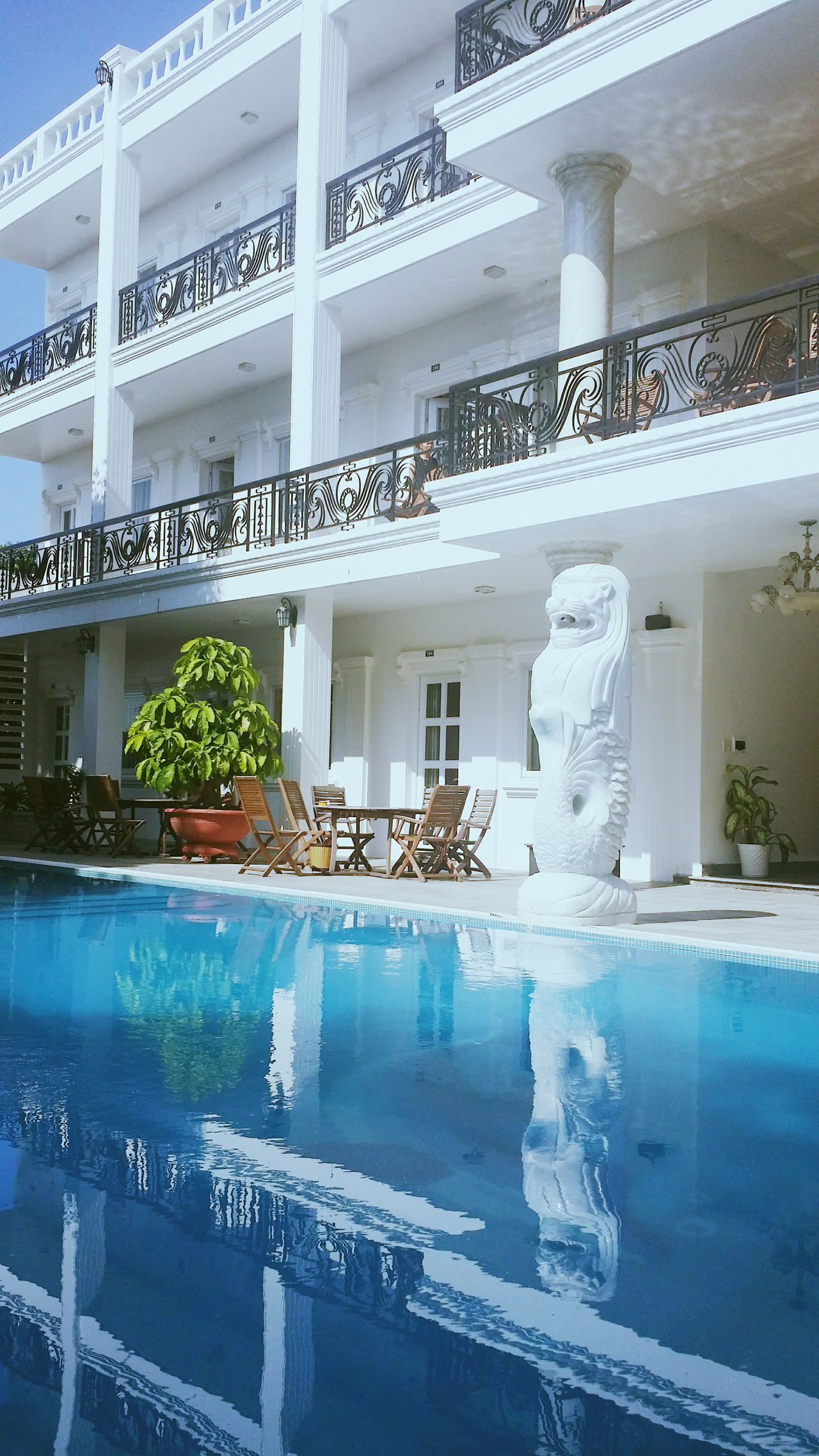 Colour Of Life Hotel Cam Ranh So Beautiful ♥♥ Swimming Pool Freshair No People Outdoor Beauty Freshwater Freshairinthemorning Lovethatplace Dontwanttoleave Staythere Withfamily
