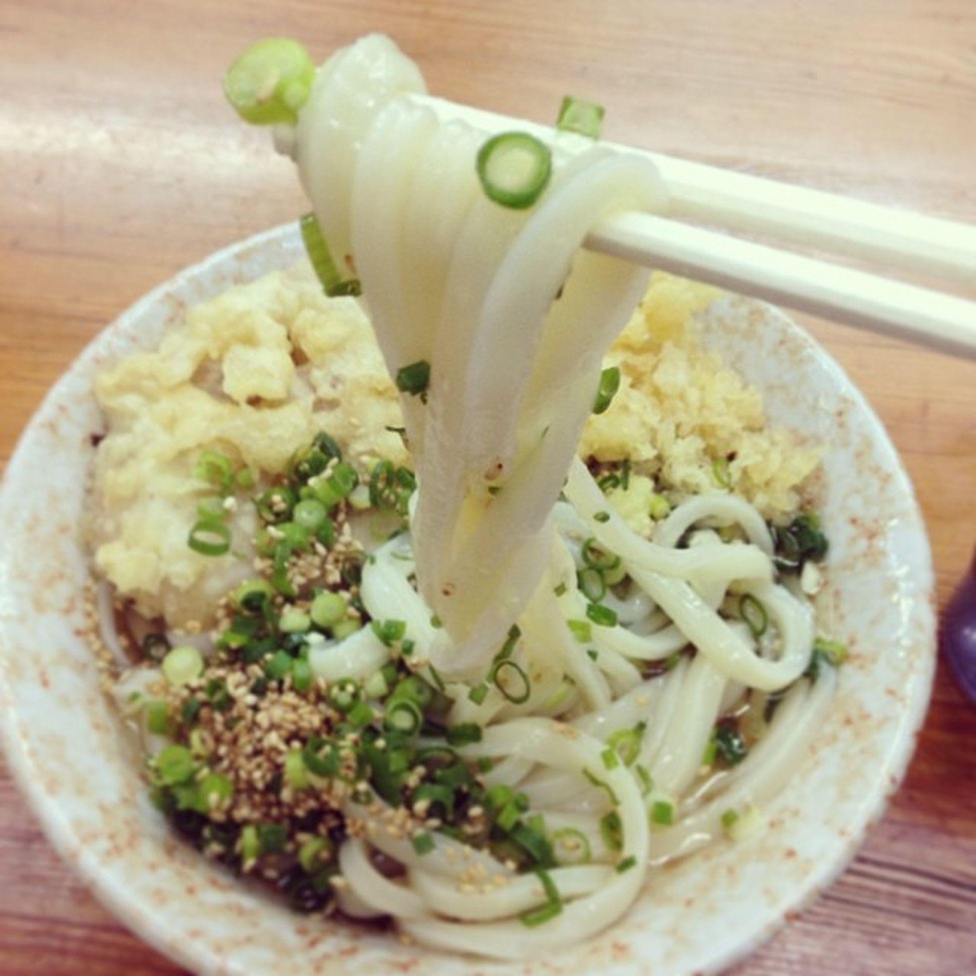 Udon  うどん Food 寒いので朝うどん…???