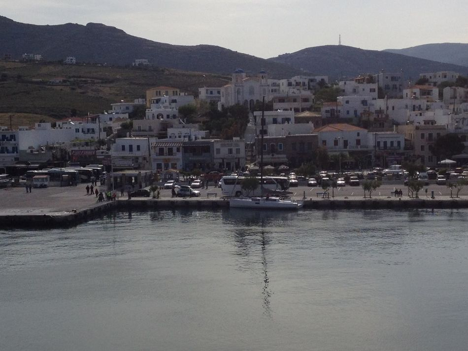 Beauty In Nature GREECE ♥♥ Idyllic Scenics Sky Swans Tinos Greece Tranquil Scene Travel Destinations Water