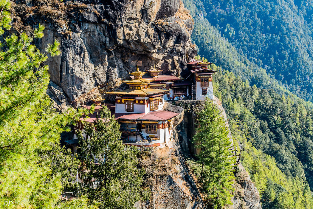 Architecture Built Structure Mountain Outdoors Religion Scenics Spirituality Tiger's Nest