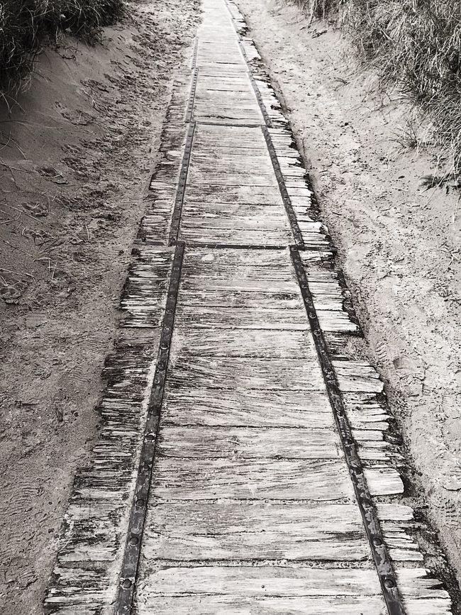 Diminishing Perspective The Way Forward Vanishing Point Boardwalk Footpath Wales❤ Wales UK Walesonline Weathered Coastline Landscape Wales Coastline Walkway Harlech Beach Harlech Wooden Path Wooden Planks Wooden Jetty Sandy Path
