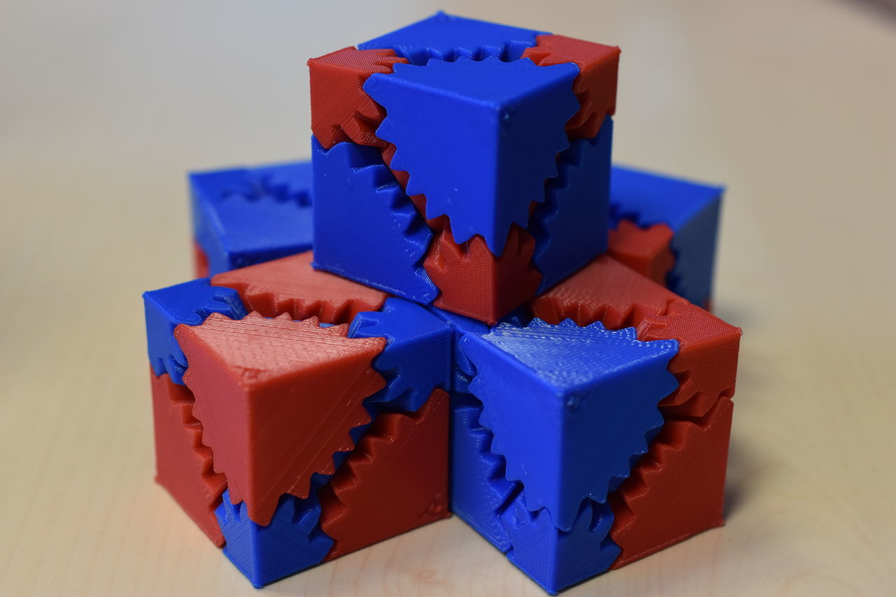 Blue Close-up Commercial Photography Cube Shape Indoors  No People Red Toy Block