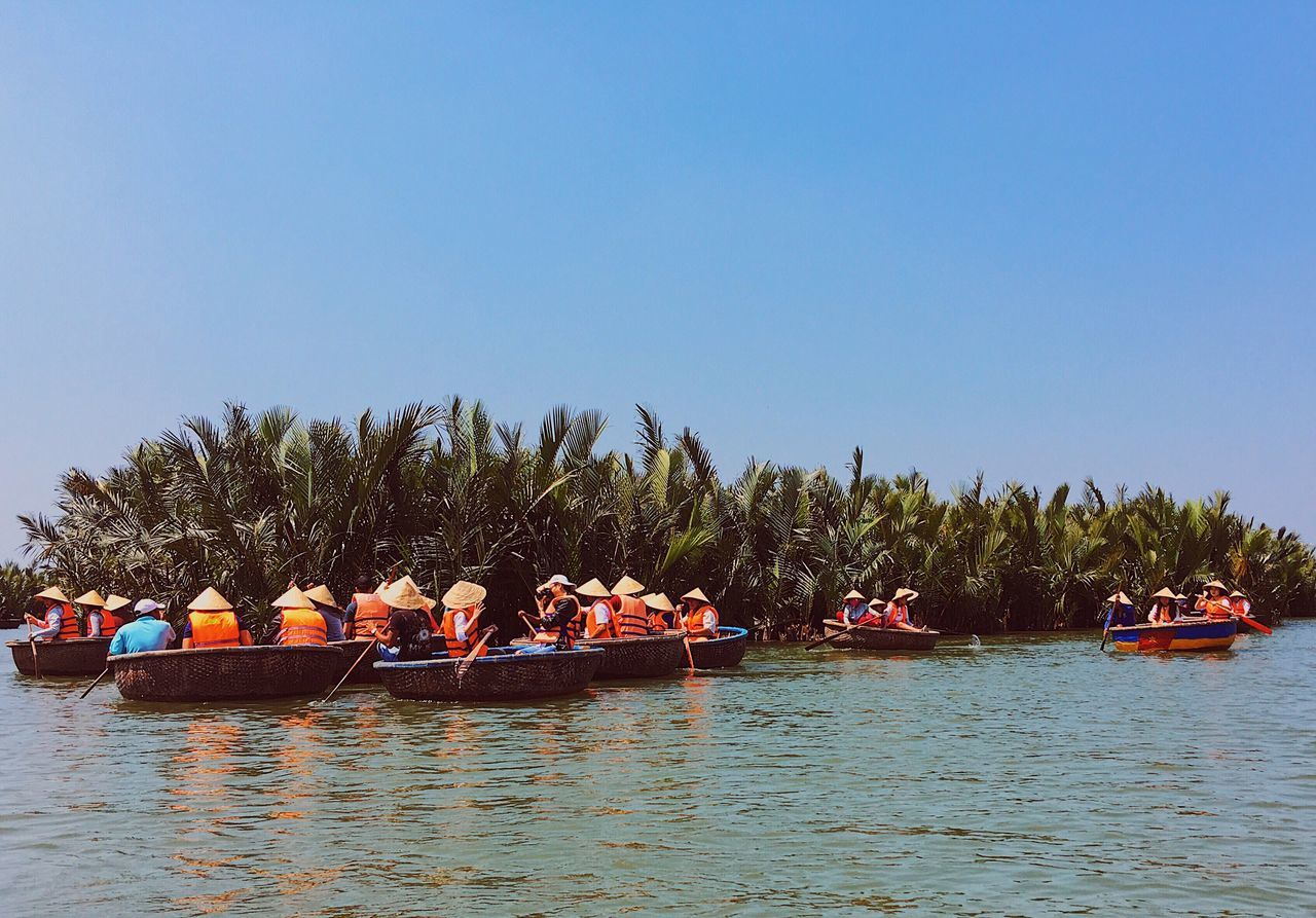 Coracle 🛶 Boat Coracle River Hoi An Vietnam