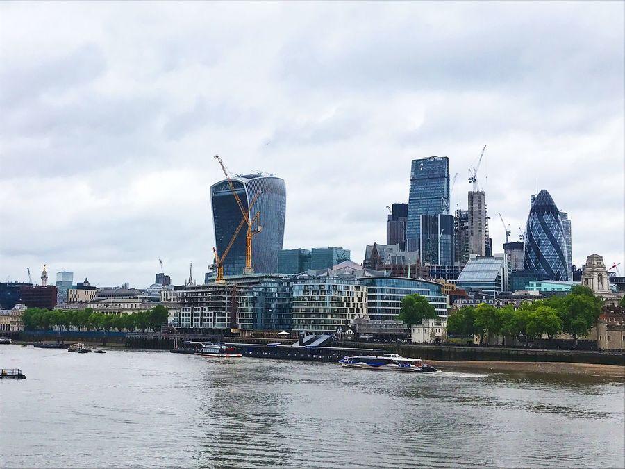 London | Londres London LONDON❤ London Shore London Views View City Cityscape Architecture Building Exterior Built Structure Architecture Arquitectura