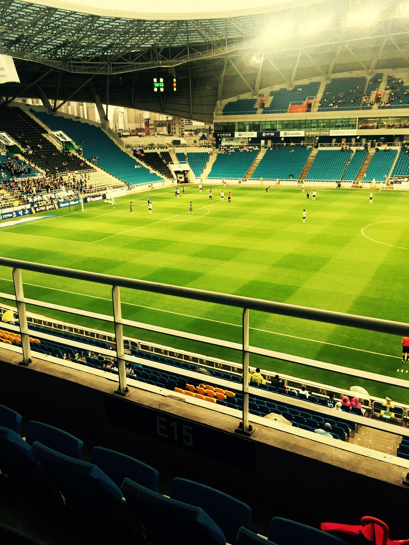 비 오는날 축구경기 K-League Soccer Incheon First Eyeem Photo