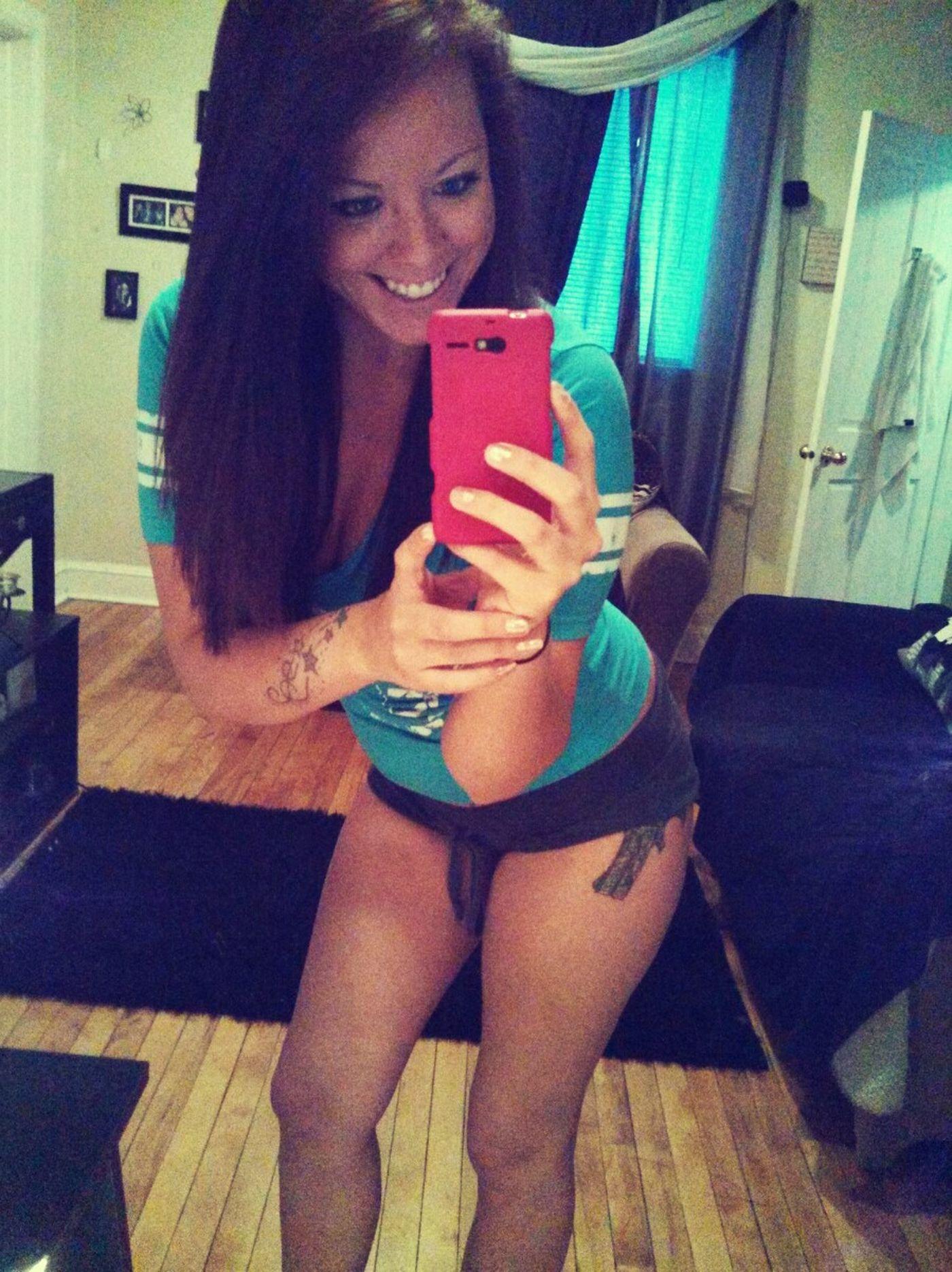 Pistol Loaded Selfie Girls With Tattoos Smoking Gun  Ready To Kill 