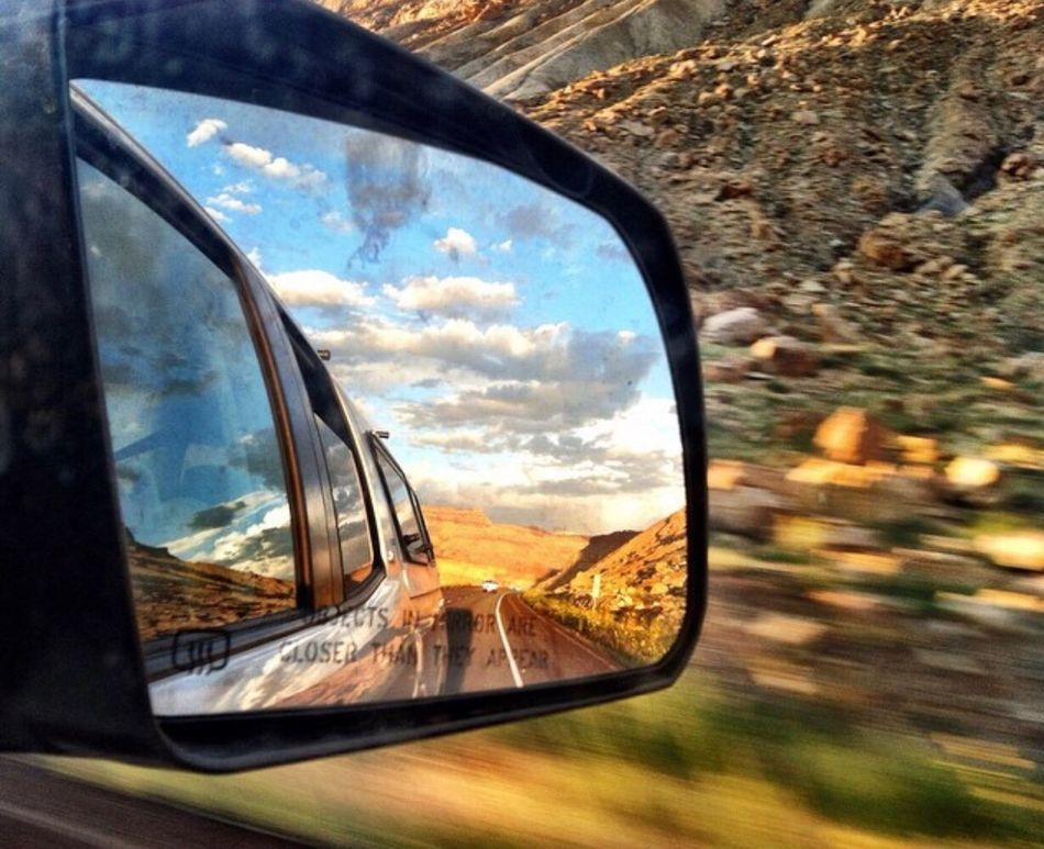 GoFast Transportation Car Side-view Mirror Cloud - Sky Road Journey Sunset Toyota ToyotaTundra