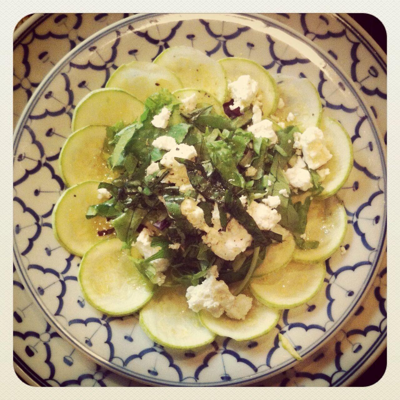 Vegetarian Food On Plate