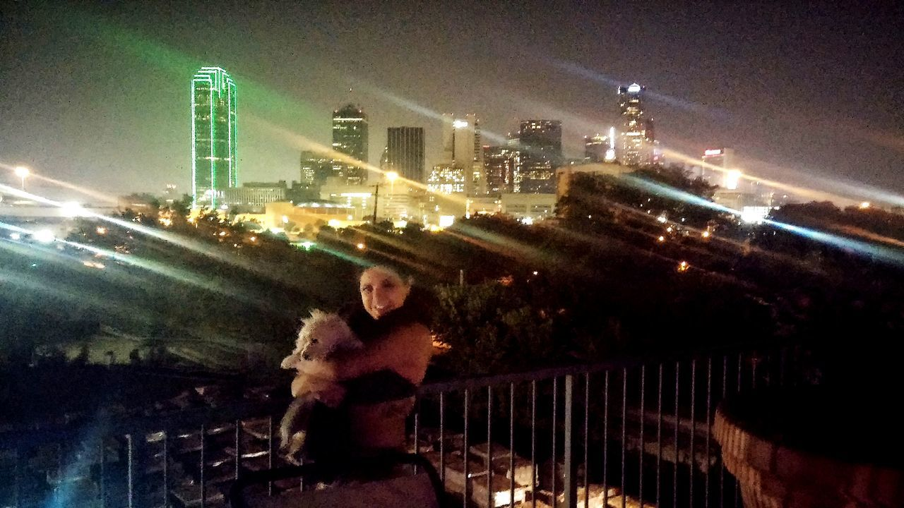 Beautiful dallas night ! Dallasskyline NightShots