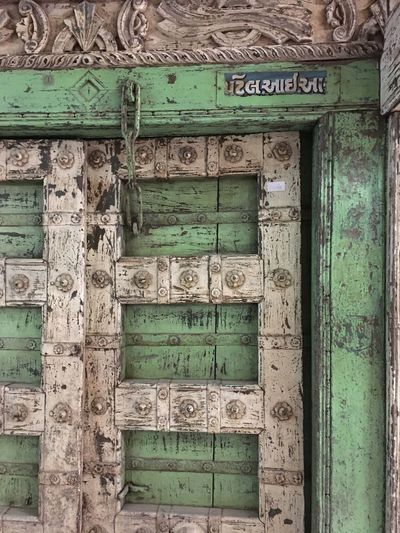 Indonésien Door Text Communication Carving - Craft Product Day Architecture No People Outdoors Built Structure Building Exterior Close-up Door