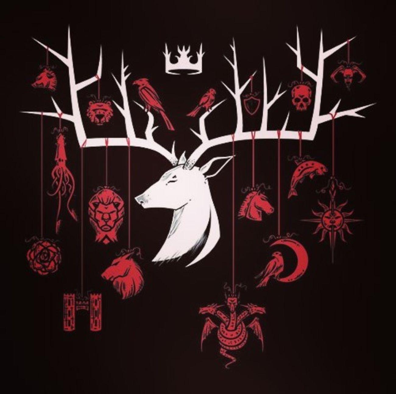 Game Of Thrones Baratheon Stark Lannister Tully Arryn Greyjoy Targaryen Tyrell Martell Bolton Frey Baelish