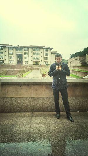Koç University Raining Drumbeat Yihaaa!