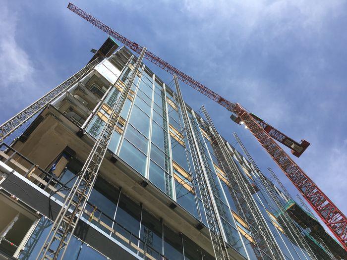 Bouwen in Den Haag. Construction in The Hague. Bouw Construction Site Construction Bouwplaats