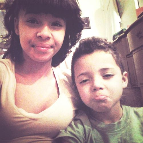 Me & My Baby Brother <3